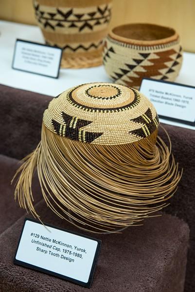 Unfinshed cap at the Clarke Historical Museum. - MARK MCKENNA