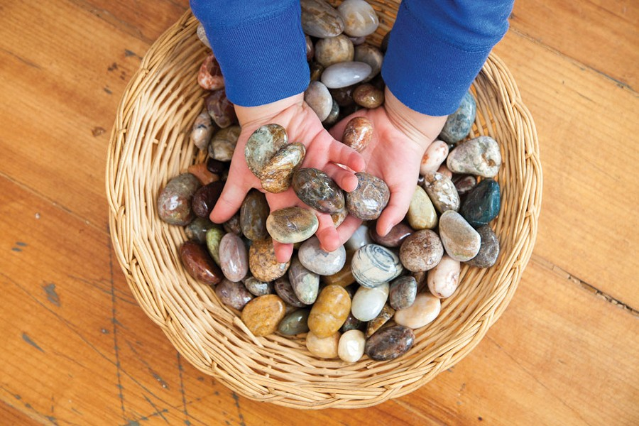Hands on at the Philosopher's Stone. - AMY KUMLER