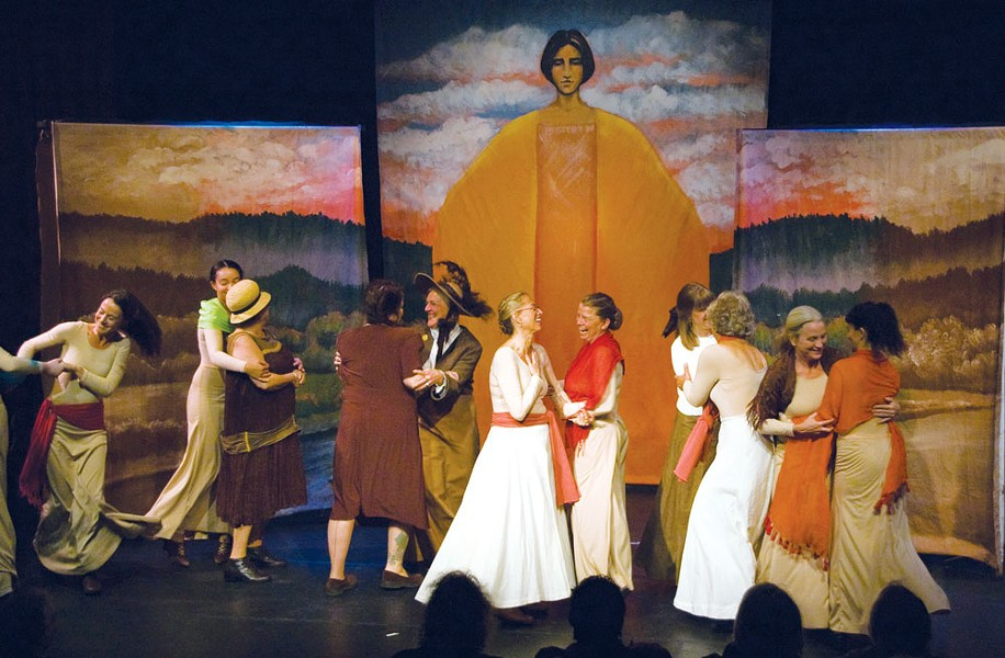 Women of the Northwest. - COURTESY OF ARCATA PLAYHOUSE