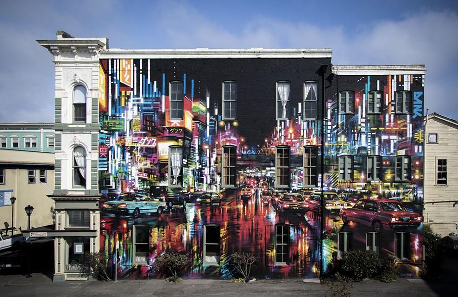 "Dan Kitchener's ""Electric City."" - JILLIAN BUTOLPH"