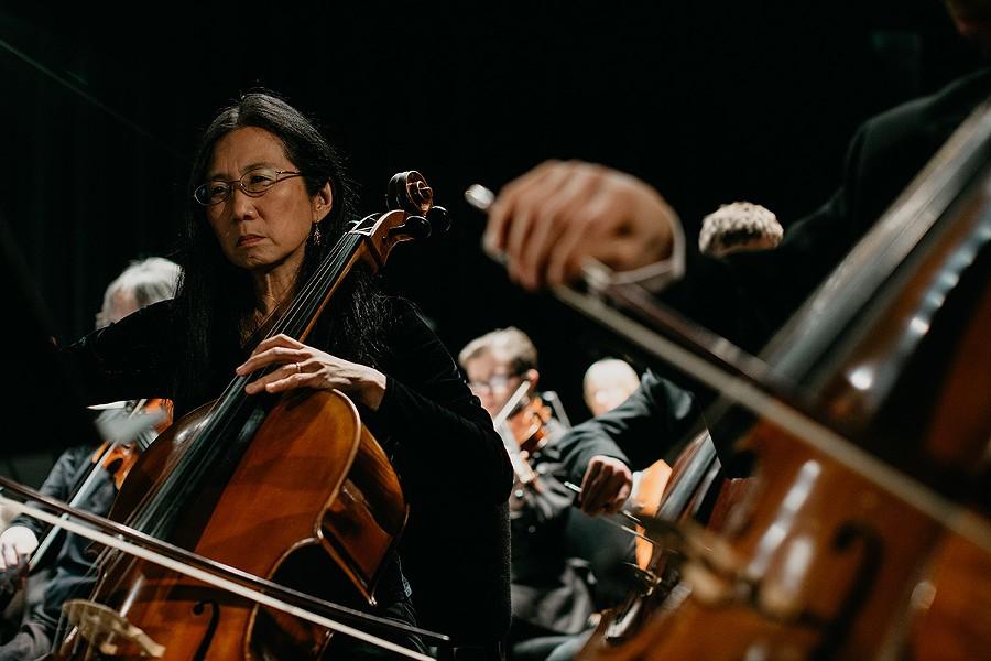 Eureka Symphony at the Arkley Center. - LEÓN VILLAGÓMEZ