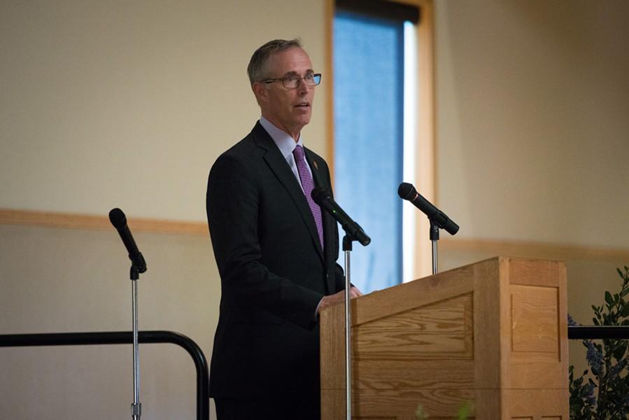 Jared Huffman recalls meeting Spetzler. - MARK MCKENNA