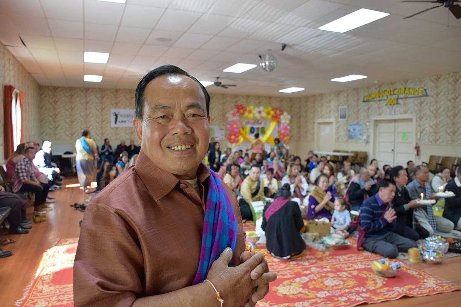 "Suraphan ""John"" Worasen, president of the Lao Community Association. - PHOTO BY JENNIFER FUMIKO CAHILL"