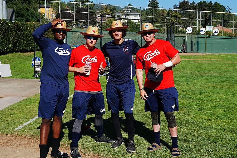 Crabs players celebrate Cowboy Night too! They're just like us! - HUMBOLDT CRABS FACEBOOK