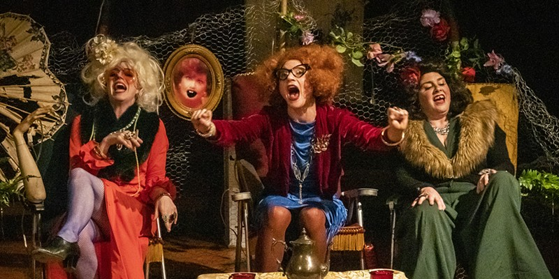 The hard-drinking, fun-loving Beaver Sisters host their hot mess of a telethon.