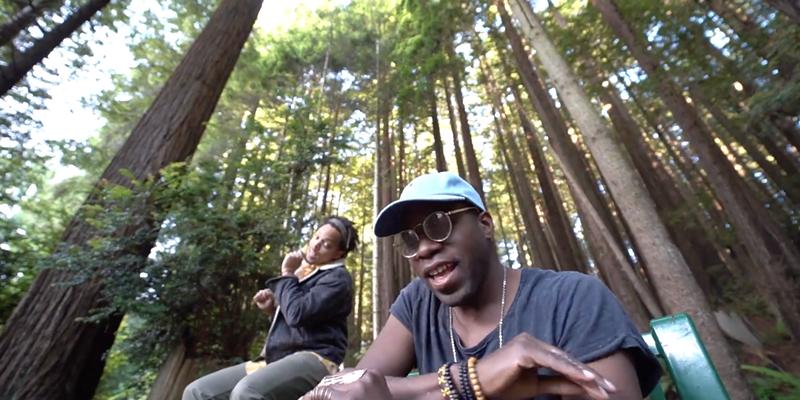 "Jonny 2x and Raashan Ahmad in the Humboldt-centric ""Wonderful Fantastic"" video."