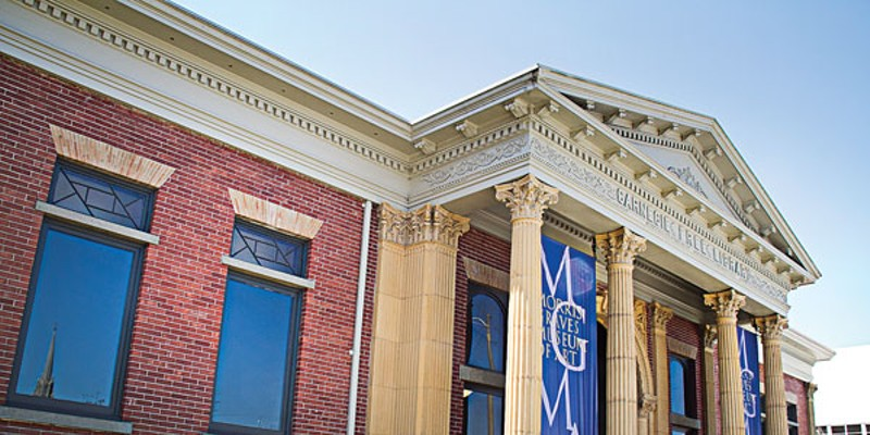 The Morris Graves Museum of Art.