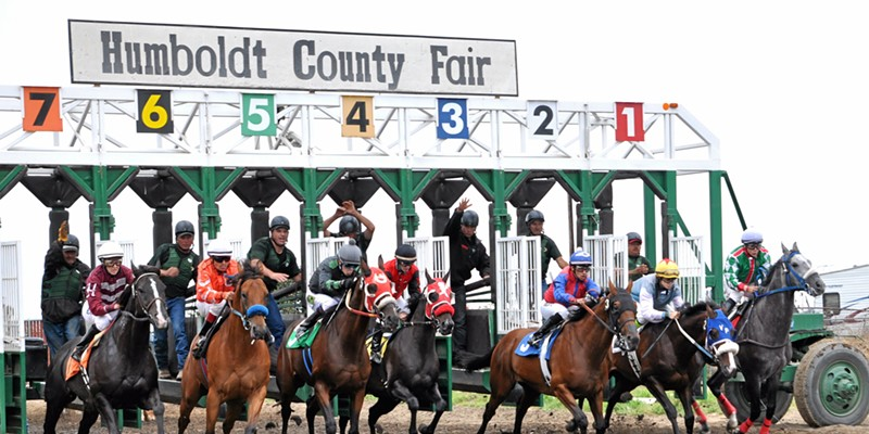 The Humboldt County Fair announces dates and a fundraiser for race horse owners.