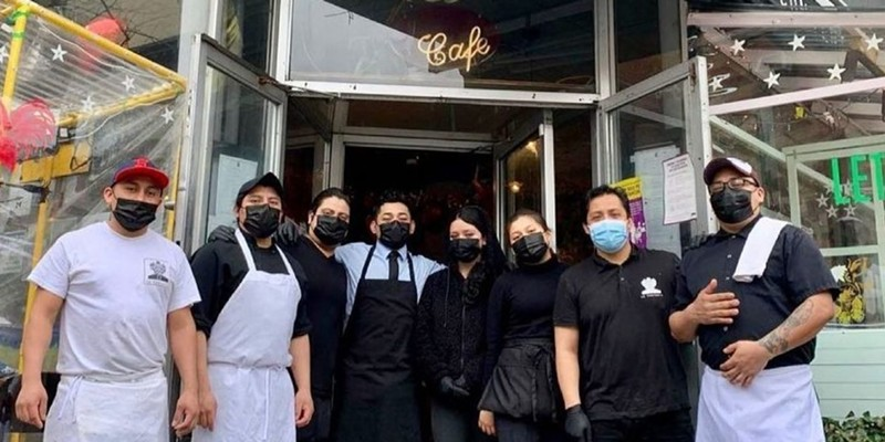 Luis Arce Mota, chef-owner of La Contenta and La Contenta Oueste in New York City, contracted Covid-19 last year and encouraged his staff to sign up for the vaccine but didn't make it mandatory.