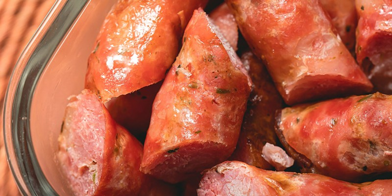 Beans, Linguiça to go in Ferndale