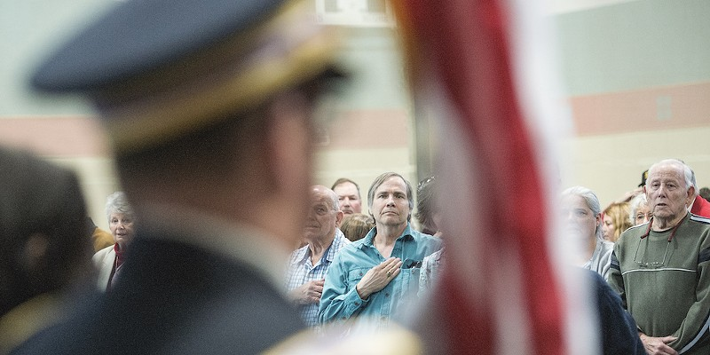 An event honoring Korean War veterans at the Adorni Center last year.