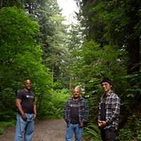 'Beacons of Hope' Eric Clark, left, Mark Taylor, center, Tony Wallin, right. Photo by Dave Woody
