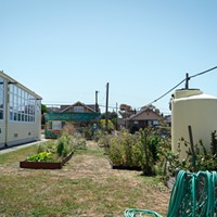 The Jefferson Community Center is Turning Up the Heat' The garden at the Jefferson Community Center. The water tank to the right of the garden supplies the area with collected rainwater water – an effort of the Jefferson Project to remain as sustainable as possible. Katie Rodriguez