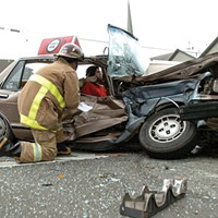 Crash One of many factors contributing to Humboldt County's high vehicle fatality rates is that the county stretches 4,000 square miles and it can take some time before emergency responders arrive on scene. Mark McKenna