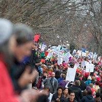 Women's March on Washington, D.C.  Photo by R. Arroyo