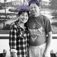 Annie and Chin Chau, owners of Annie's Cambodian, voted Humboldt's Best Chinese Food. Seriously.