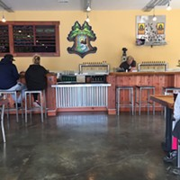 Inside the new taproom in Eureka.