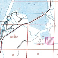 A county staff report shows the project's location and proximity to U.S. Highway 101 and Big Lagoon.