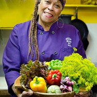 "Chef and owner Marie ""Sweet Mama"" Janisse."