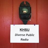 KHSU's studio.