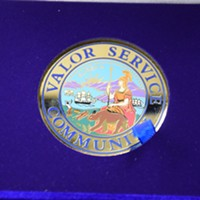 The Valor Service Award.