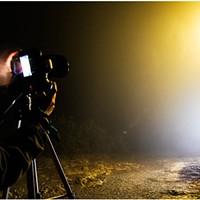 North Coast Night Lights: Night Lights in the Fog