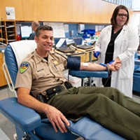 Humboldt County Sheriff William Honsal was among the first donors.