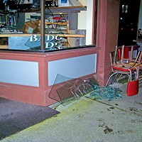 Earthquake damage in Old Town, Eureka