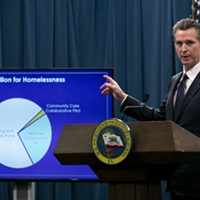In this file photo, Gov. Gavin Newsom fields questions on his 2020-21 budget proposal Jan. 10, 2020. California now faces a $54 billion deficit.