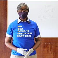Rio Dell Mayor Debra Garnes talks about the Rio Dell COVID-19 Volunteer Corp on the HumCo COVID Facebook page.