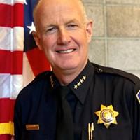 Arcata Police Chief Brian Ahearn