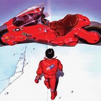 A still from the 1988 anime classic Akira by Katsuhiro Otom.