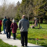 'Real People': Sunday's Love Over Hate Vigil