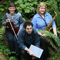 The Vipisa Trio, featuring Cindy Moyer, Virginia Ryder and John Chernoff