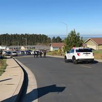 Humboldt County Major Crimes Task Force at the scene.