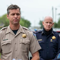 Humboldt County Sheriff William Honsal (foreground) and Arcata Police Chief Brian Ahearn are both thinking outside the box as they try to hold the line on service levels with depleted staffing.