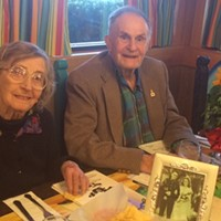 Geoffrey and Queenie Spenceley