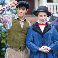 Fiona Ryder and James Gadd in Mary Poppins.
