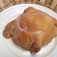Soft, sweet pan de muerto.