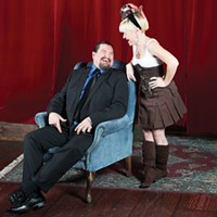 Whitefeather Trotta and Nawdy Little Girl, pillars of the kink community.