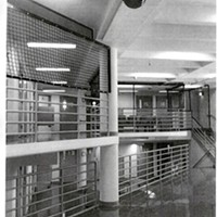 A version of the suicide netting that may go up in the jail, as included in the budget request.