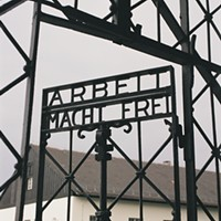 Concentration camp, Munich, Germany.