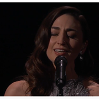 Sara Bareilles sings Joni Mitchell at the Academy Awards.