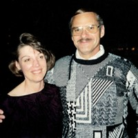 Dick and Judy Magney around the time they met in 1992.