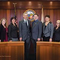 The Eureka City Council's official portrait.