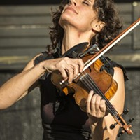 Jenny Scheinman's performance was a highlight of the 39th annual Humboldt Folklife Festival.