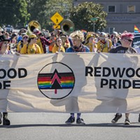 The annual parade rebooted under Redwood Pride's banner.