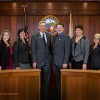 The current Eureka City Council.