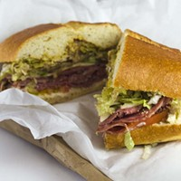 Open your mind to pastrami on your Italian sub.
