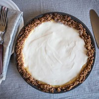 Leave the tchotckes, take the cream cheese pie.